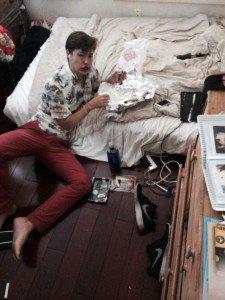 Amy Walker's messy teen