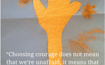 How We Learn and Practice Courage