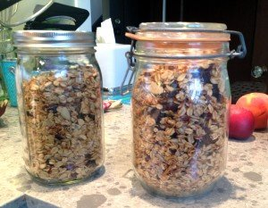 Vanilla Maple Granola Click for recipe!