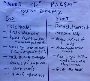 More PD Parent