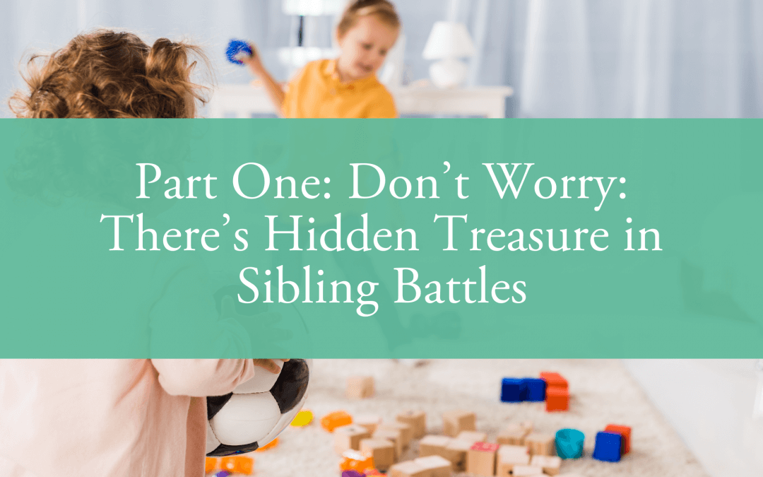 Part One: Don't Worry: There's Hidden Treasure in Sibling Battles