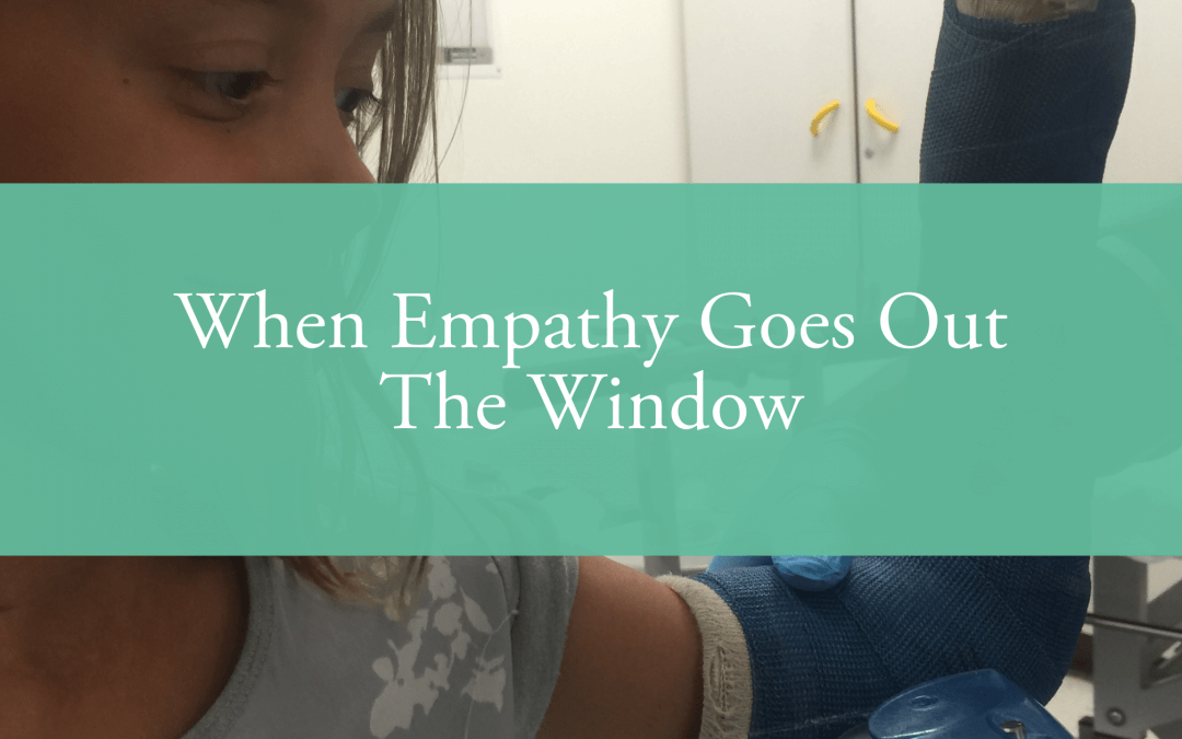 When Empathy Goes Out The Window