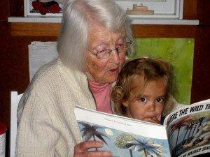 granny photo with Sonja